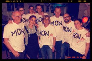 Ich habe echte Fans mit tollen Monja TShirts!