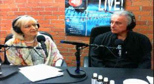 Ela Corcoran a guest at the radio show