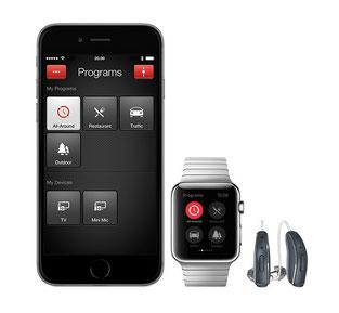 Iphoneと連携。もちろん、話題のAppleWatchとも連携します