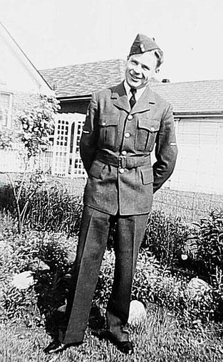 Leading Aircraftman Fred Larson Kristensen