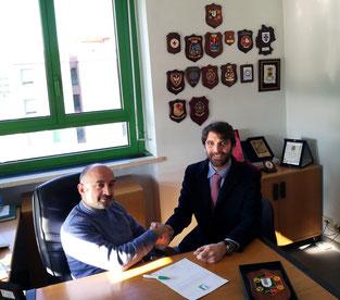 Dr. Pasqualino Gaudio, University of Rome Tor Vergata; Daniele Di Giovanni, HESAR President