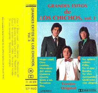 GRANDES EXITOS DE LOS CHICHOS  Vol. 3