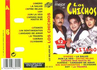 """Lo Mejor de Los Chichos 12 éxitos   """"Gitano"""""""