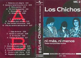 LOS CHICHOS 25º Aniversario ni mas ni menos MC 2