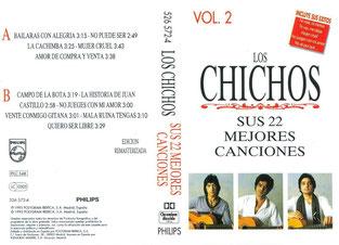 LOS CHICHOS SUS 22 MEJORES CANCIONES  VOL 2