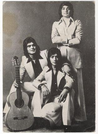 Los Chichos 1973 Foto de Archivo PHILIPS