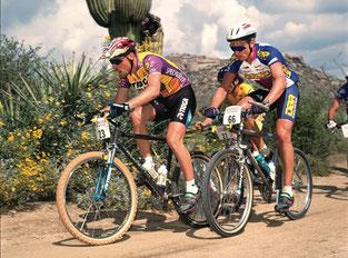 Estudio biomecanico ciclismo 2 personas