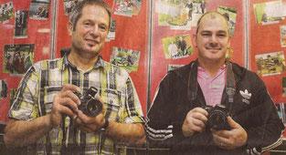 Ulrich Schmidt und Sandro Grupe haben die Fotos der Ausstellung gemacht