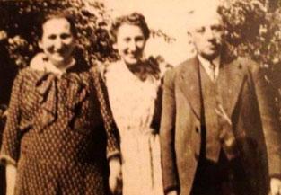 Sophie, Ilse und Sally in besseren Kasseler Zeiten