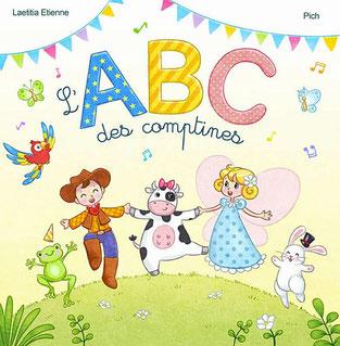 Le livre jeunesse de Laetitia Etienne nommé L'ABC des comptines aux Editions AlphaBook sur le Blog de Cloé Perrotin
