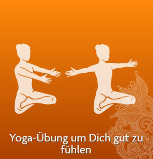 Yogaübung um Dich gut zu fühlen - Quelle: www.yogitea.com