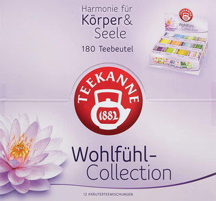 Teekanne Wohlfühl - Collection selbst bestimmen, wie man sich fühlt... Harmonie für Körper & Seele