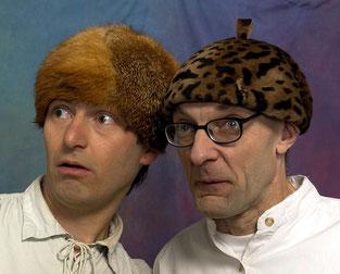 Andy Clapp und Christoph Buchfink