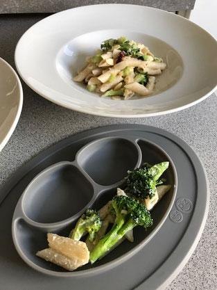 Cremige Ricotta-Penne mit Brokkoli
