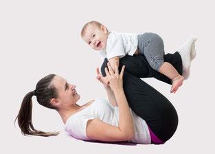 Rückbildung nach Schwangerschaft