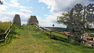 Burg Altmannstein, Kernburg
