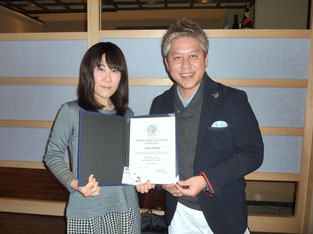 with Noriko Arimura (2015-3-08)