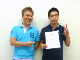 with Mr.Kentaro (2015-07-19)