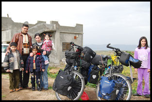 voyage à vélo en Syrie, bike touring, bike touring, laetitia