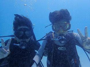 石垣島でのんびりダイビング「親子でダイビング」