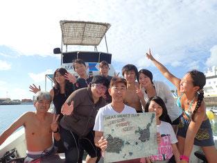 石垣島でのんびりダイビング「奇跡」