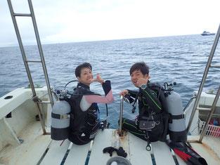 石垣島でのんびりダイビング「パワースポットに潜る」