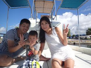 石垣島でのんびりダイビング「今年は家族で」