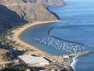 Estado actual de las obras, Playa Las Teresitas, Tenerife
