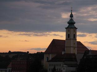 Abendstimmung in  Neustadt an der Waldnaab