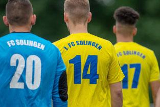 Am 7. Juli um 11.00 Uhr bittet Coach Uhlenbrock die Mannschaft des 1. FC zum Aufgalopp. (Foto: 1. FC Solingen Media Team)