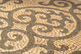 Portuguese pavement detail