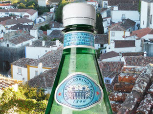 My temporary water bottle in Obidos, Portugal