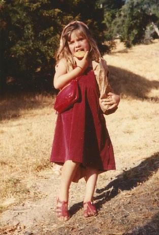 Adhara, filha da Pyari, na Califórnia, USA, 1983
