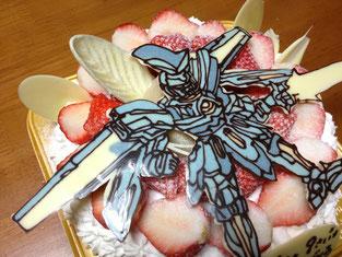 ダンボール戦記のオーディーンのケーキ