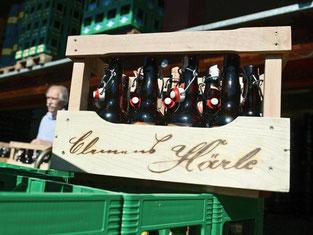 Die Brauerei Härle durf ihr Bier nicht als «bekömmlich» anpreisen. Foto: Felix Kästle