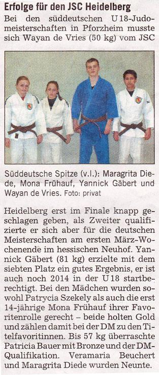 Veröffentlicht am 21.02.2013 in der Rhein-Neckar-Zeitung