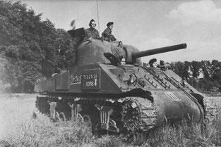 M4 Sherman britannique