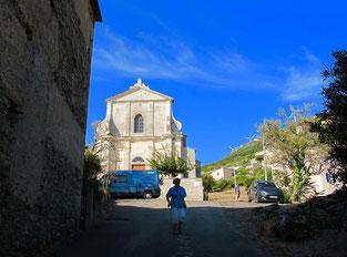 die Kirche von Rogliano