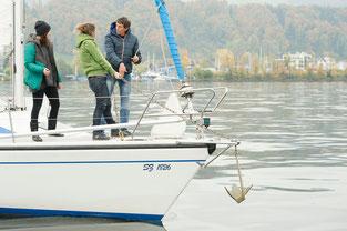 Gruppenkurse segeln lernen segelschule