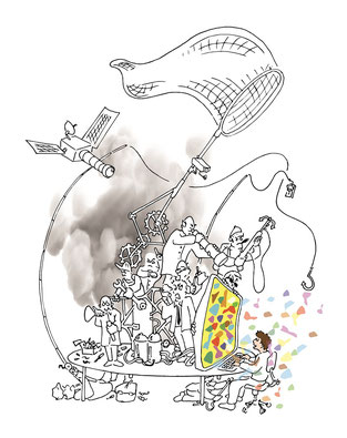 Illustration Louis Bouxom