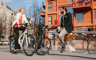 e-Bikes für die Stadt