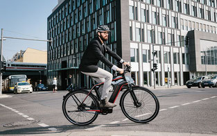 Fahren mit einem Elektrovelo - Bike4Car