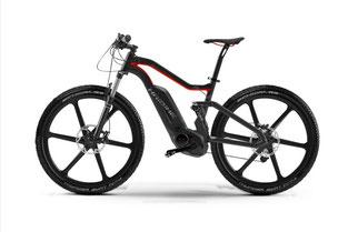 Haibike setzt auf Carbon e-Bikes