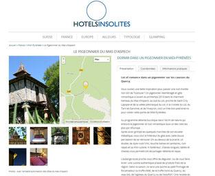http://www.hotels-insolites.com/le-pigeonnier-du-mas-daspech.hotel