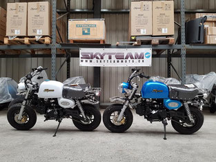 Motorrad Skyteam Skymini Skymax Skybongo Skyteammoto