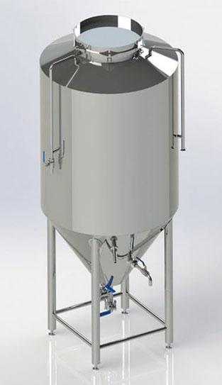 Стальной бак для изготовления пива
