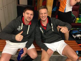 Kai Rixen und Torsten Müllenbach am 5. Spieltag in Kiel