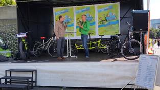 Radaktiv Tag in Düsseldorf: Lastenräder gewinnen an Bedeutung