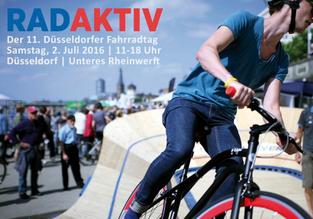 e-Bikes testen auf dem Fahrradtag Düsseldorf