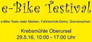 e-Bike Testival e-motion e-Bike Welt Frankfurt